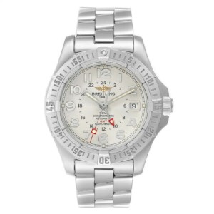 Breitling Colt Ocean GMT A32350 Men's Date Steel Automatic 40MM Watch