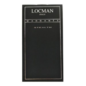 New Locman Men's Stealth Titanium Carbon Ref. 218 Chronograph Quartz 47MM Watch
