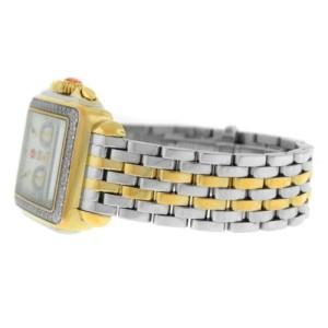 Michele Deco MW06A01C5025 Gold Diamond MOP Steel Quartz 33MM Watch