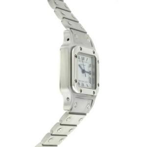 Ladies Cartier Santos Galbee Automatic 24MM Steel Watch
