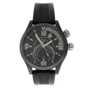 Ball Master II Diver TMT DT1020A-PAJ-BK Men's Ti Thermometer Auto 42MM Watch