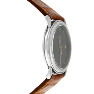 Unisex Girard-Perregaux Classic Steel 34MM Date Quartz See Through Watch