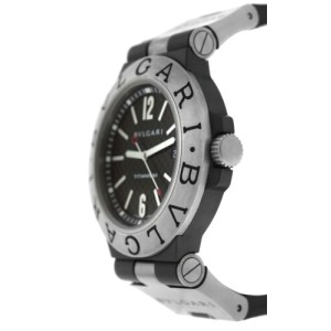 Bvlgari Bulgari Diagono Men's 44MM Titanium Automatic Ti 44TA Watch