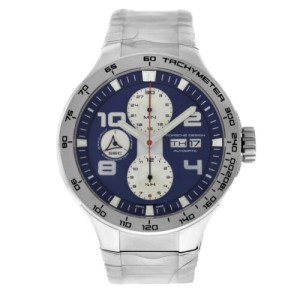 Porsche Design Flat Six P6340 6340.41.83.0251 Men's Steel Automatic 44MM Watch