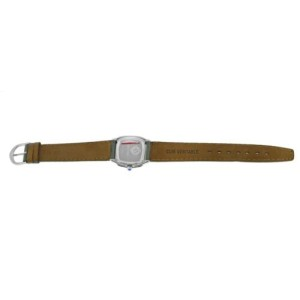 Ladies David Yurman Thoroughbred T304-XSST Steel MOP Diamond 26MM Quartz Watch