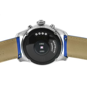 Montblanc Summit 2 1119722 Stainless Steel 42MM Smart Watch Wear OS Google