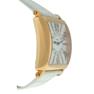 Franck Muller Master Square 6002 H QZ REL 6/6 18K Rose Gold Quartz 36MM Watch