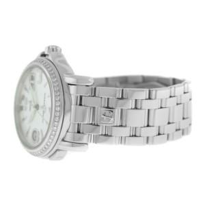 Ulysse Nardin San Marco 223-22 GMT +/-  Unisex Diamond MOP Automatic 37MM Watch