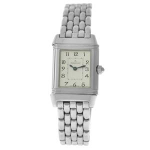Piaget Jaeger-Lecoultre Reverso Duetto 266.8.44 Steel MOP Diamond Watch