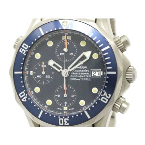 Omega Seamaster Professional Chronograph Titanium 42mm Mens Watch