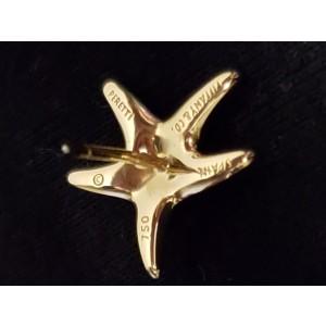 Tiffany & Co. Elsa Peretti 18K Yellow Gold Starfish Stud Earrings