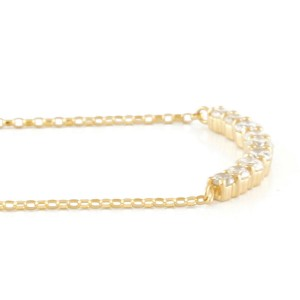 18k yellow gold Diamond Dancing Venetian Necklace CHAT-93