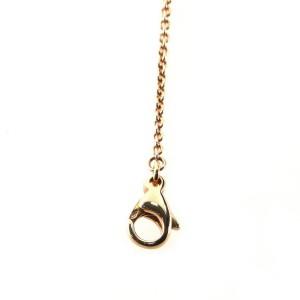 Bvlgari B.Zero1 Pendant Necklace 18K Rose Gold and Ceramic