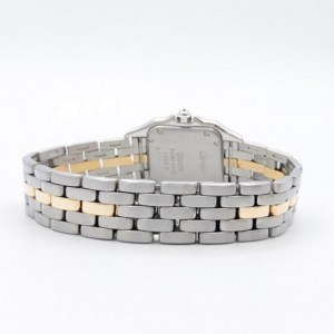 CARTIER PANTHERE 22mm Quartz 18K Gold & Steel DIAMOND Watch