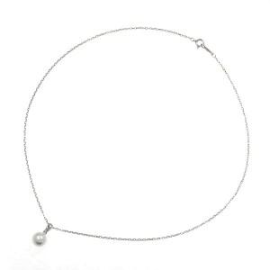 Mikimoto diamond/white gold Pearl Necklace