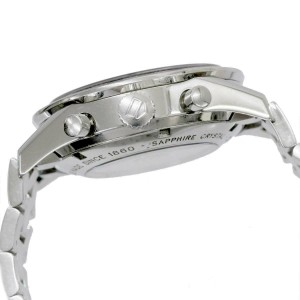 TAG HEUER Stainless steel Carrera Chronograph Watch Rcb-124