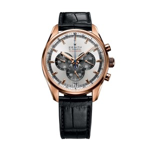 ZENITH El Primero Striking 10th 18.2040.4052/21.C496 Black Alligator 42mm Mens Watch