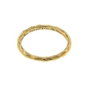 19e42b04a Tiffany & Co. Paloma Picasso 18k Rose Gold Hammered Ring | Tiffany ...