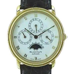 "Blancpain ""Perpetual Calendar"" 18K Yellow Gold Mens Watch"