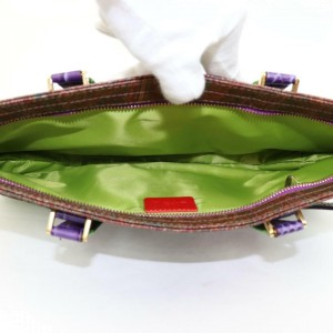 Etro Ultra Rare Limited 2way 870127 Multi Color Canvas Shoulder Bag