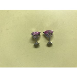 Chopard So Happy Synthetic Pink Sapphire and Diamond Limited Edition Earrings
