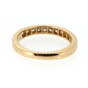 Tiffany & Co. Yellow Gold Diamond Wedding Band Ring