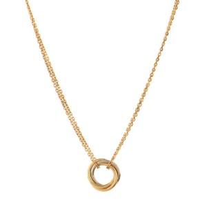 Cartier Trinity Choker Necklace 18K Tricolor Gold