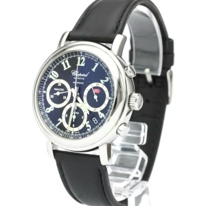 Polished CHOPARD Mille Miglia Chronograph Steel Automatic Watch 8331