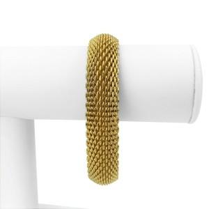 Tiffany & Co. 18k Yellow Gold Somerset Flexible Mesh Bracelet