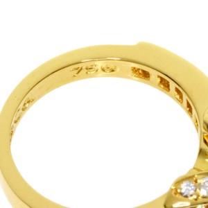 TIFFANY & Co. Diamond 18k Yellow Gold Signature Ring