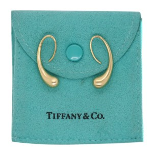 Tiffany & Co. 18k Gold Elsa Peretti Gold Teardrop Earrings