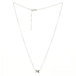 Chaumet Jeux de Liens Pendant Necklace 18K White Gold with Diamonds