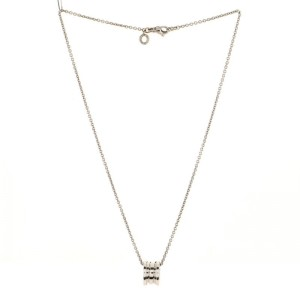 Bvlgari B.Zero1 Pendant Necklace 18K White Gold