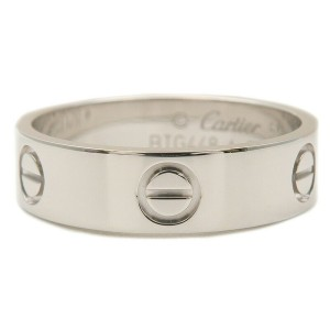 Cartier Love 18k White Gold Ring