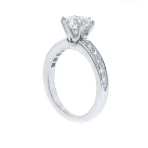 Tiffany & Co. Platinum & 0.93ct Diamond Engagement Ring Size 5.5
