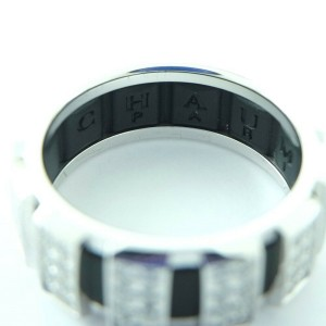 Chaumet 18k white gold/diamond Class one Ring