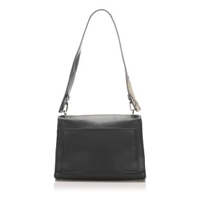 Be Dior Leather Double Flap Bag