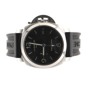 Panerai Luminor 1950 3 Days Automatic Watch Stainless Steel and Rubber 44