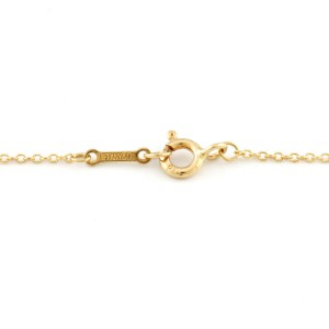 TIFFANY&Co. 18K yellow Gold Loving heart Necklace CHAT-345
