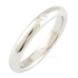 TIFFANY&Co. Platinum Diamond Komaru Bundling Ring