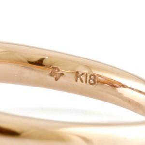 Ponte Vecchio 18K Pink Gold Amethyst heart Ring