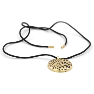 Cartier Panthere Necklace 18K Yellow Gold Emerald