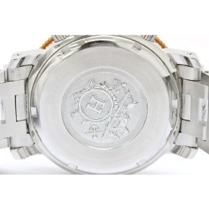 Hermes Clipper Diver Stainless Steel Quartz 40mm Mens Watch