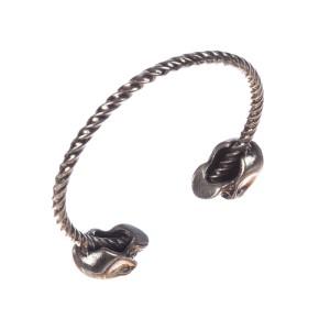 Alexander McQueen Skull Bangle Bracelet