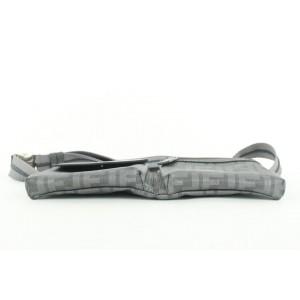 Fendi Rare Grey Monogram FF Zucca Belt Bag Fanny Pack Waist Pouch 262ff512