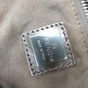 Fendi Large Monogram FF Zucca Tobacco Duffle Bag with Strap 863180