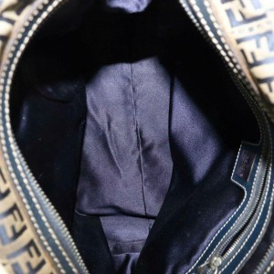 Fendi Large Selleria Du Jour 870311 Brown Leather Tote