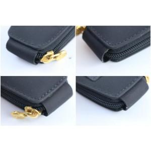 Fendi Ff Manicure Set 3fr0328 Black Nylon Clutch