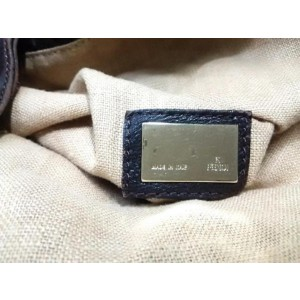 Fendi Hobo Large Monogram Ff Zucca Spy 239764 Brown Canvas X Leather Satchel