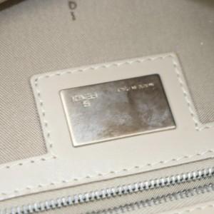 Fendi Hobo Monogram Ff Zucca Forever Tote 872716 Beige Canvas Shoulder Bag